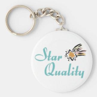 Llavero de la calidad de la estrella