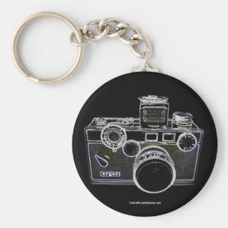 Llavero de la cámara de Argus del vintage