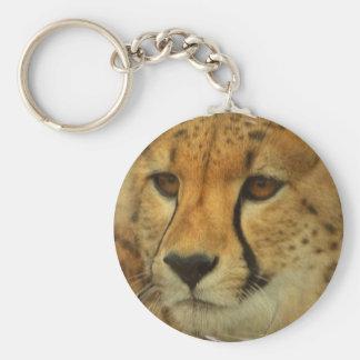 Llavero de la cara del guepardo