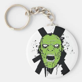 Llavero de la cara del zombi de ZWY