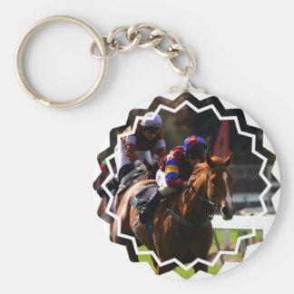 Llavero de la carrera de caballos