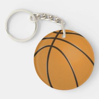 Llavero de la circular del baloncesto