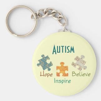 Llavero de la conciencia del autismo