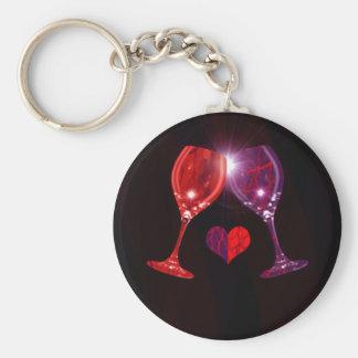 Llavero de la copa de vino