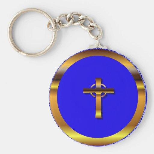 Llavero de la cruz céltica