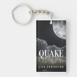 Llavero de la cubierta de libro del temblor