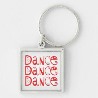 Llavero de la danza de la danza de la danza (cuadr