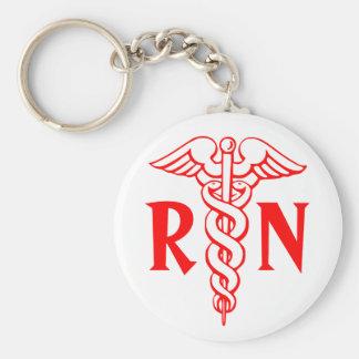 Llavero de la enfermera registradoa del RN con sím