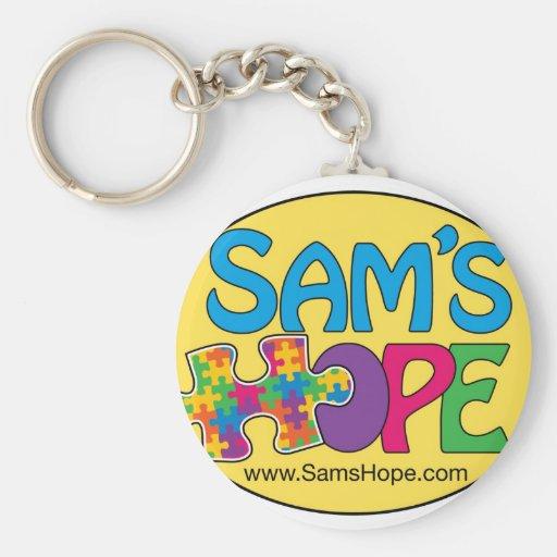 Llavero de la esperanza de Sam's