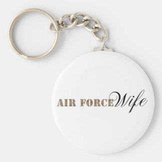 Llavero de la esposa de la fuerza aérea