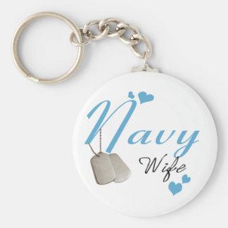 Llavero de la esposa de la marina de guerra