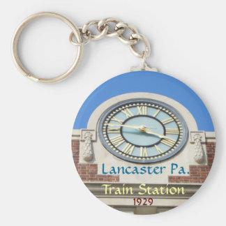 Llavero de la estación de tren de Lancaster
