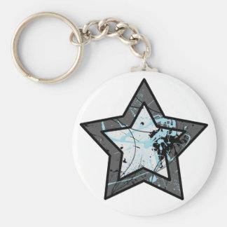 Llavero de la estrella azul