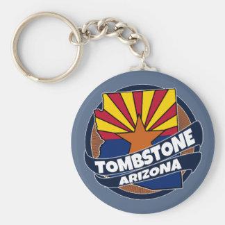 Llavero de la explosión de la bandera de Arizona