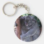 Llavero de la familia de la koala