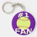 Llavero de la fan del softball #1