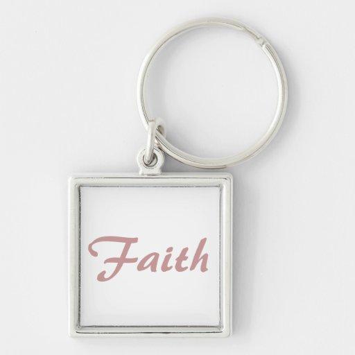 Llavero de la fe