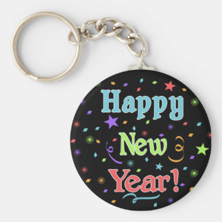 Llavero de la Feliz Año Nuevo