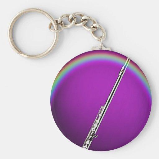 Llavero de la flauta del arco iris