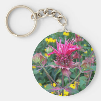Llavero de la flor de Beebalm