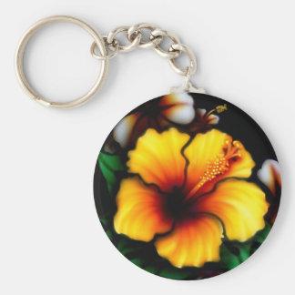 Llavero de la flor del hibisco