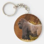 Llavero de la foto del gorila del Silverback