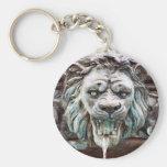 Llavero de la fuente de agua del león