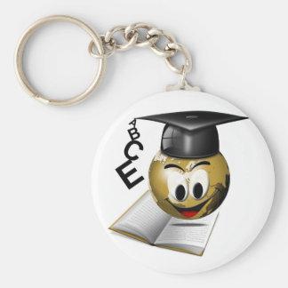Llavero de la graduación del mundo