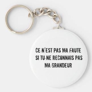 Llavero de la grandeza (grandeza en francés)