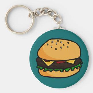 Llavero de la hamburguesa
