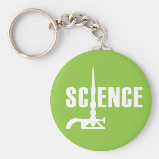 Llavero de la hornilla de Bunsen de la ciencia (si