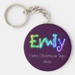Llavero de la identificación de Emily