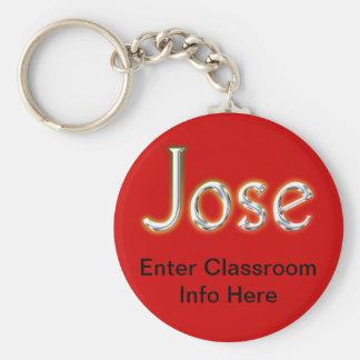 Llavero de la identificación de Jose