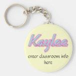 Llavero de la identificación de Kaylee