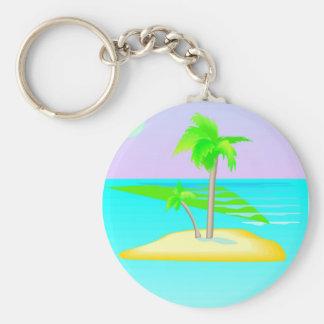 Llavero de la isla de la palmera