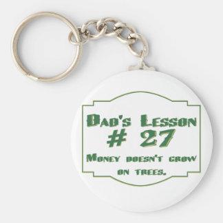 Llavero de la lección #27 del papá