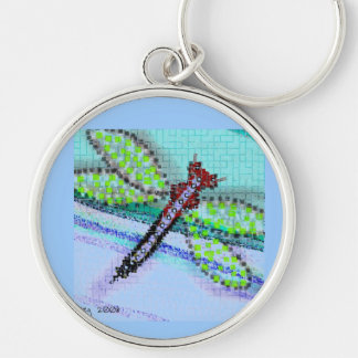 llavero de la libélula