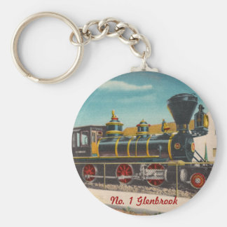 Llavero de la locomotora del vintage