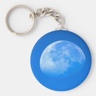 Llavero de la luna azul