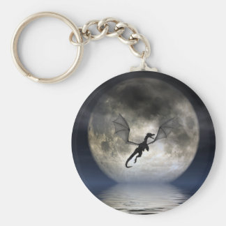 Llavero de la luna del dragón