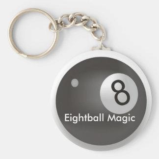 Llavero de la magia de Eightball