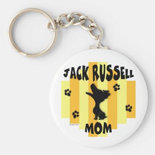 Llavero de la mamá de Jack Russell