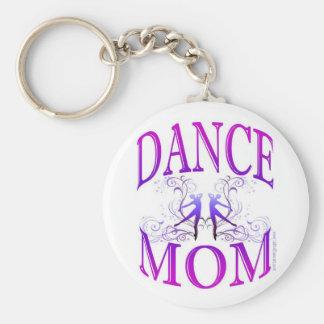 Llavero de la mamá de la danza personalizable