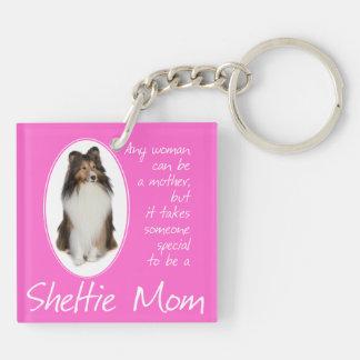 Llavero de la mamá de Sheltie