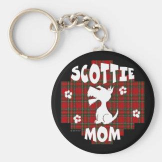 Llavero de la mamá del escocés
