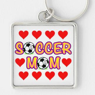 Llavero de la mamá del fútbol