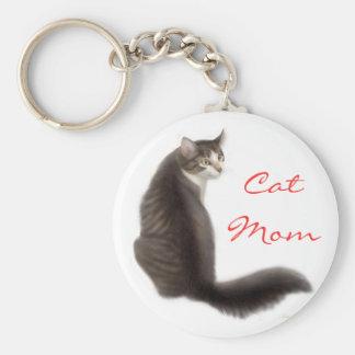 Llavero de la mamá del gato