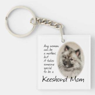 Llavero de la mamá del Keeshond