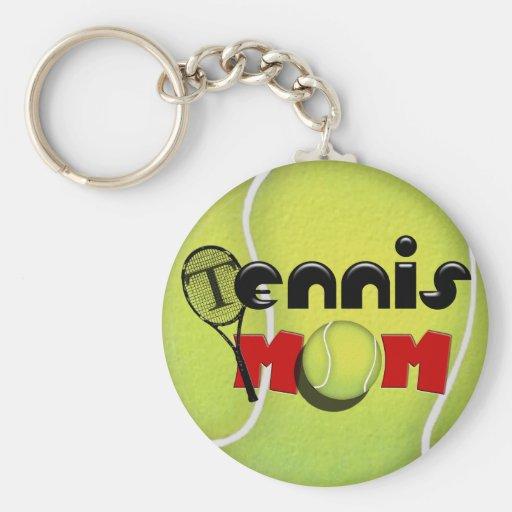 Llavero de la mamá del tenis