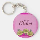 Llavero de la margarita de Chloe